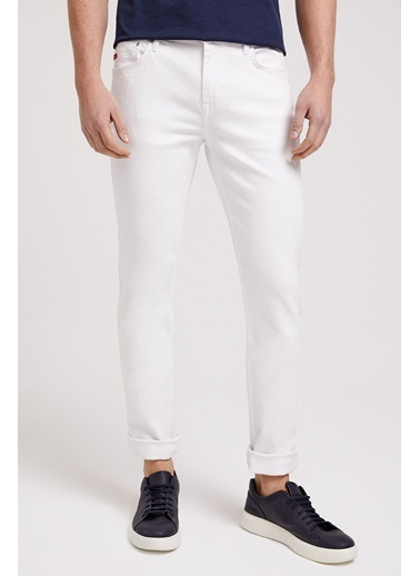Lee Cooper Erkek Gri Jagger Nd 5 Pantolon 202 LCM 221009 Beyaz